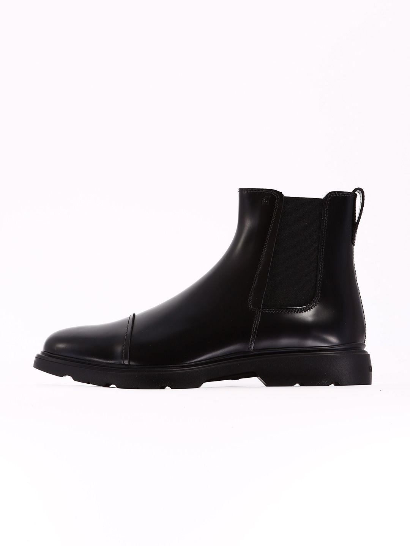 e67630764e05b HOGAN CHELSEA BOOT H304 BLACK.  hogan  shoes