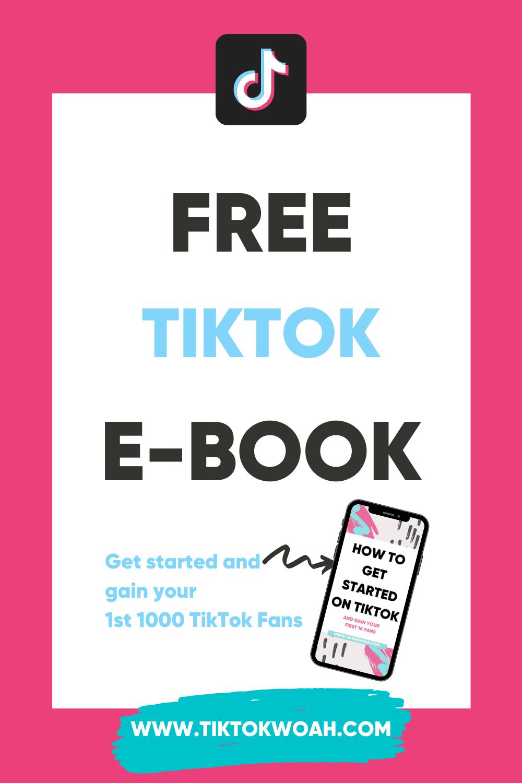 Free Tiktok E Book E Book Books Social Media Tips