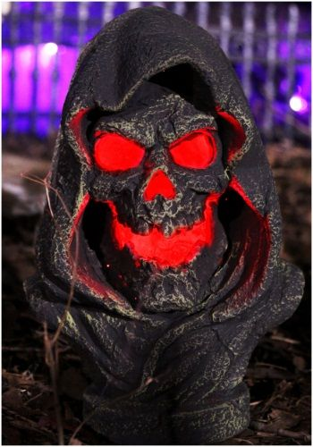 Light Up Reaper Bust Halloween!! Pinterest