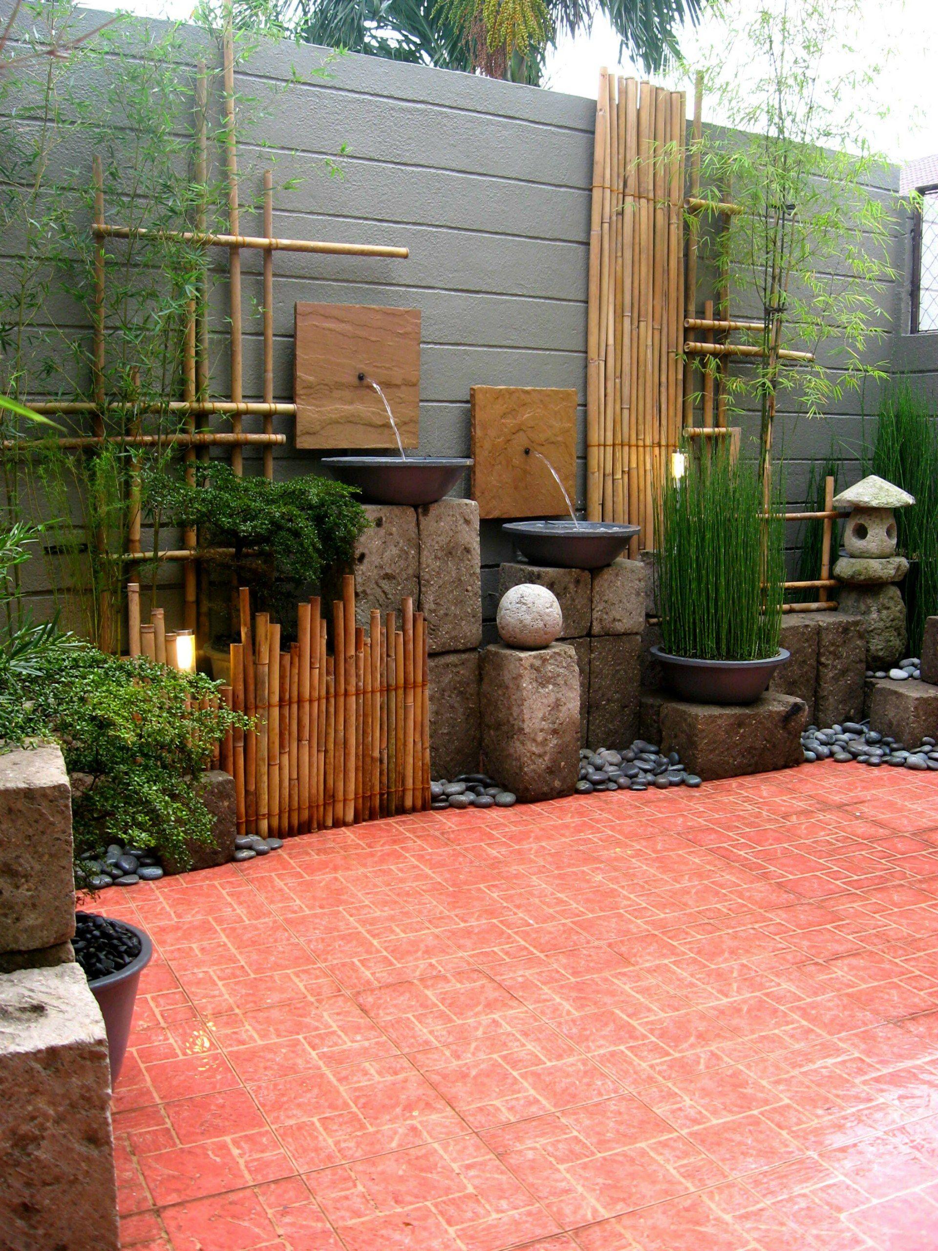 Landscape Wall Design Ideas From Primescape Philippines Small Garden Landscape Japanese Garden Landscape Front Yard Landscaping Design