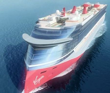 Lawsuit Reveals Ginormous Design For Branson Cruiseship Maritime - Cruise ship speed