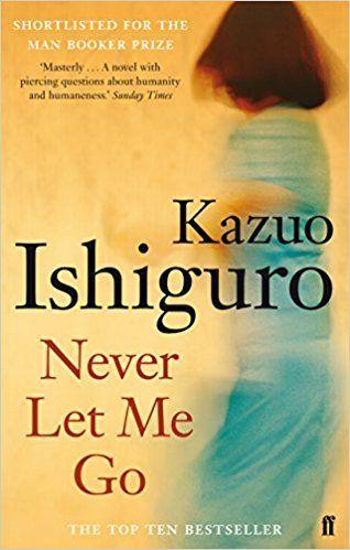 never let me go, kazuo ishiguro, paperback, charity shop buy, popsugar 2017, novel, contemporary fiction, science fiction
