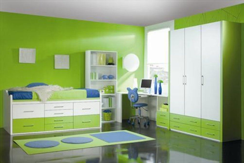habitación niño verde azul blanco - Cerca amb Google | Rakennuksia ...