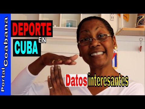 EL DEPORTE CUBANO