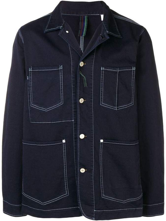 1310f922 Paul Smith multi-pocket jacket   Products   Paul smith, Jackets ...