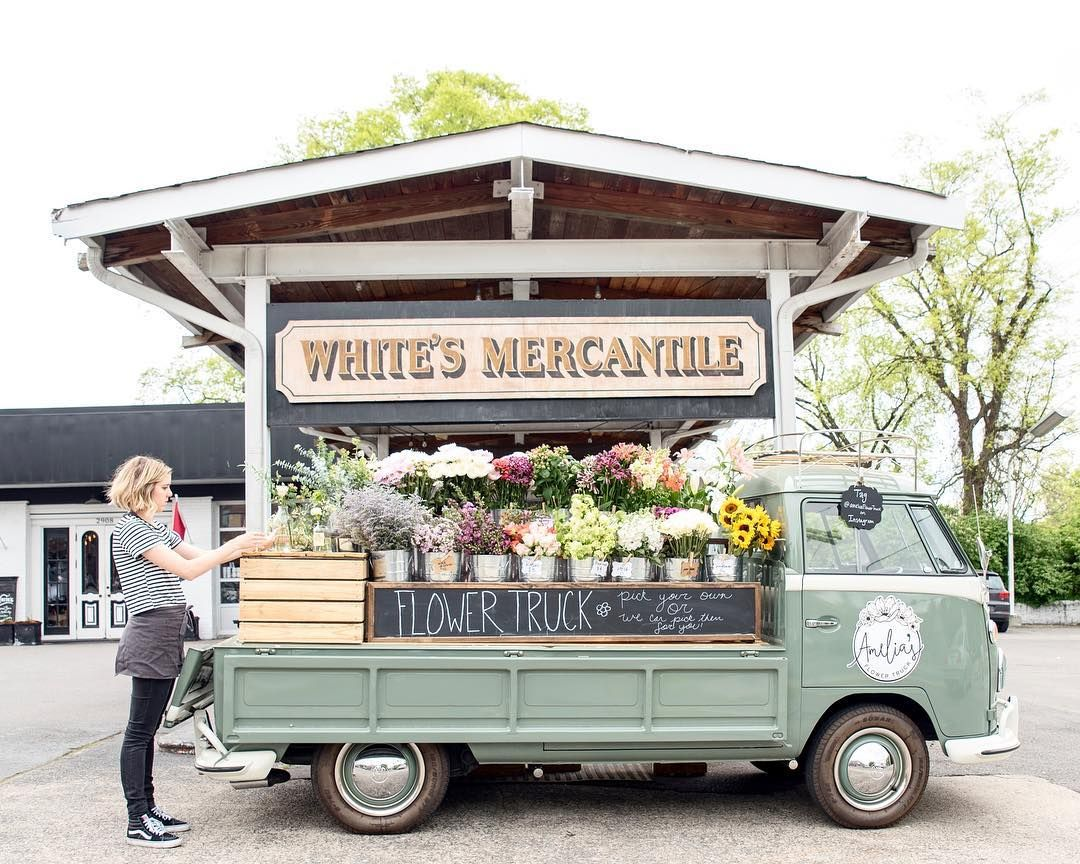 3.4 Amelia's Flower Truck in Nashville. One of my favorite