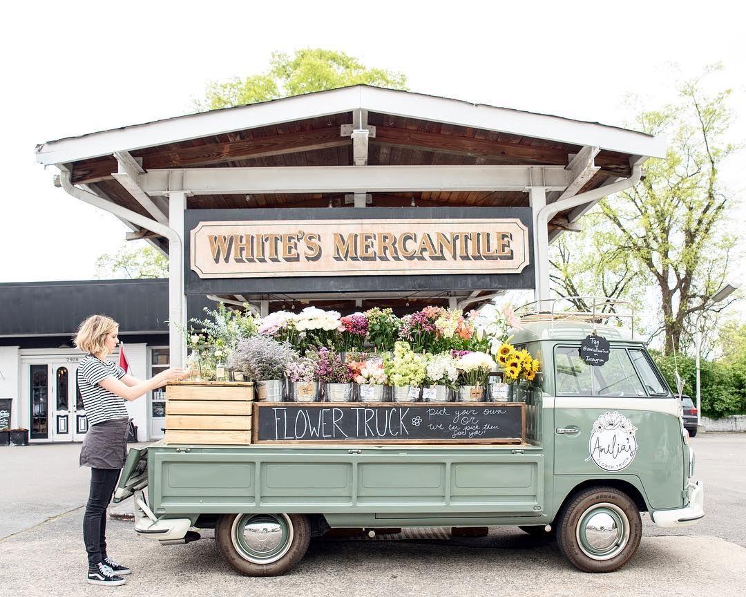 3.4 Amelia's Flower Truck in Nashville. One of my favorite