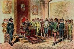 Del progreso del gobierno de Sancho Panza, con otros sucesos tales como buenos.