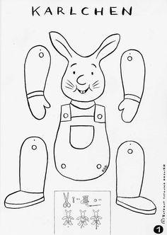 Karlchen Der Hase Von Rotraut Susanne Berner Hampelmann