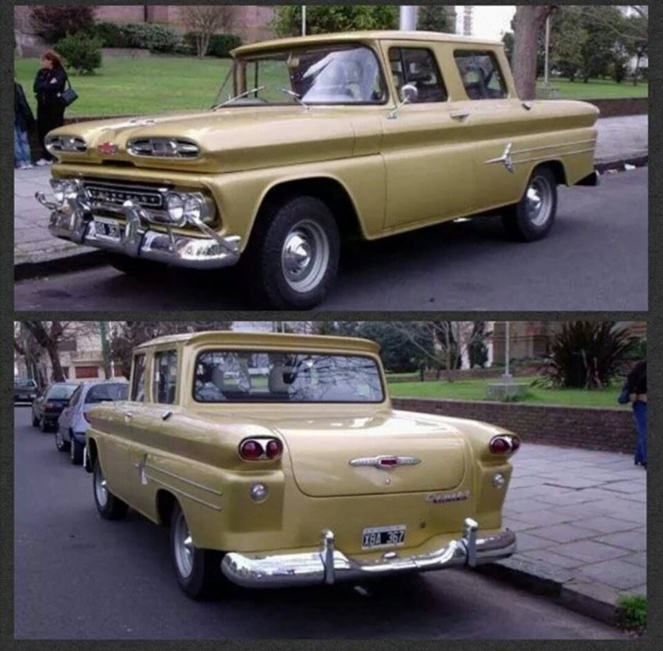 Gm In Argentina S America 1960 Custom Chevy Avalanche