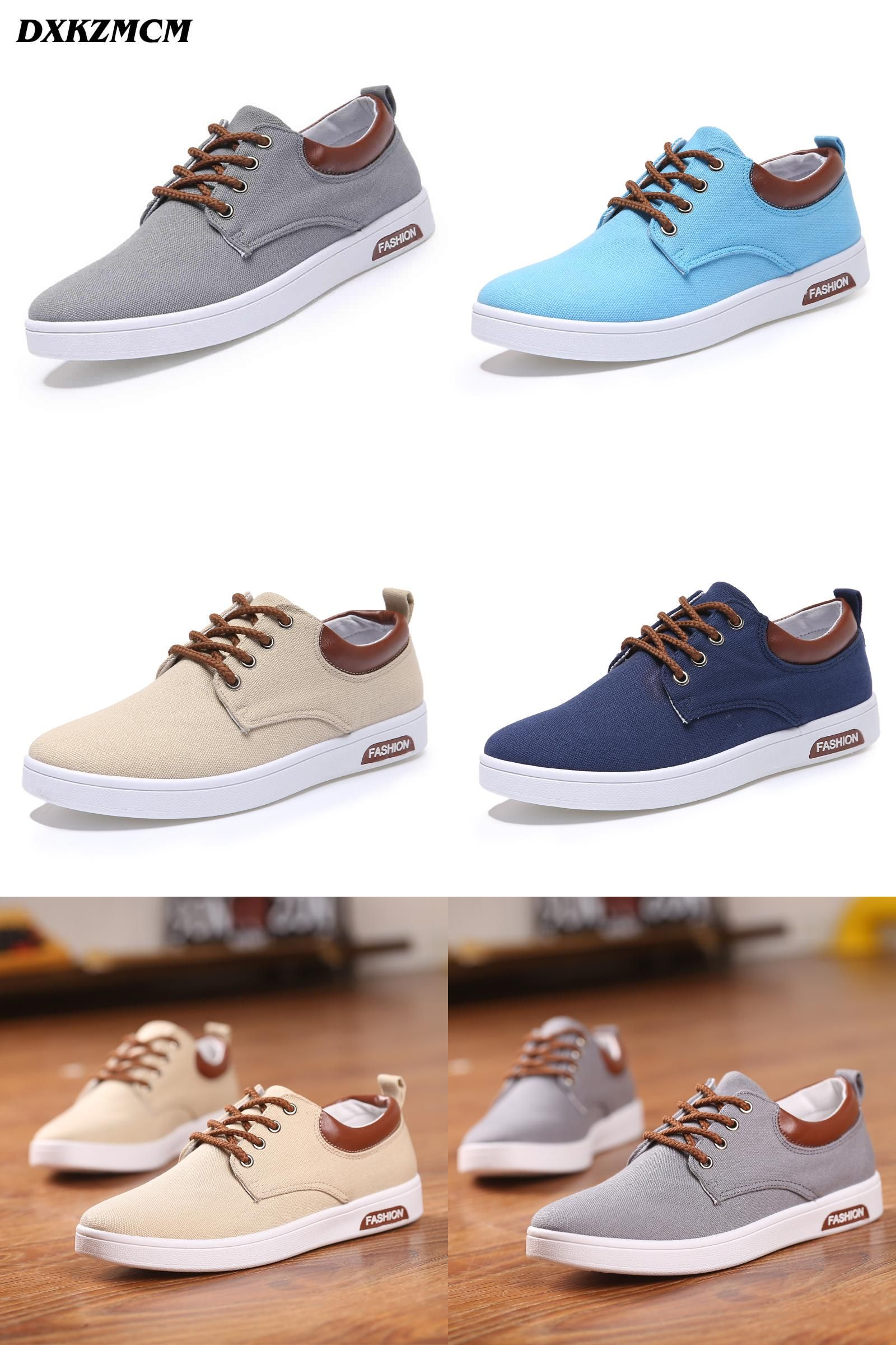 [Visit to Buy] 2017 Mens casual shoes Man flats Breathable Mens fashion  Classic shoes