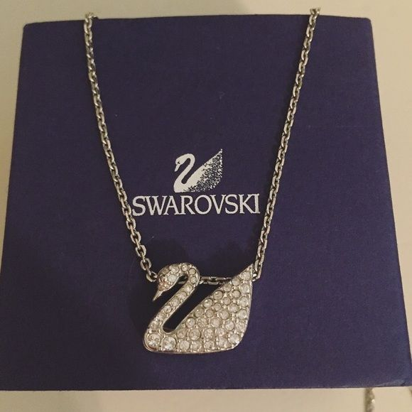 10bc2f20e3b73 Swarovski Jewelry - Swarovski Swan Necklace | swarovski in 2019 ...