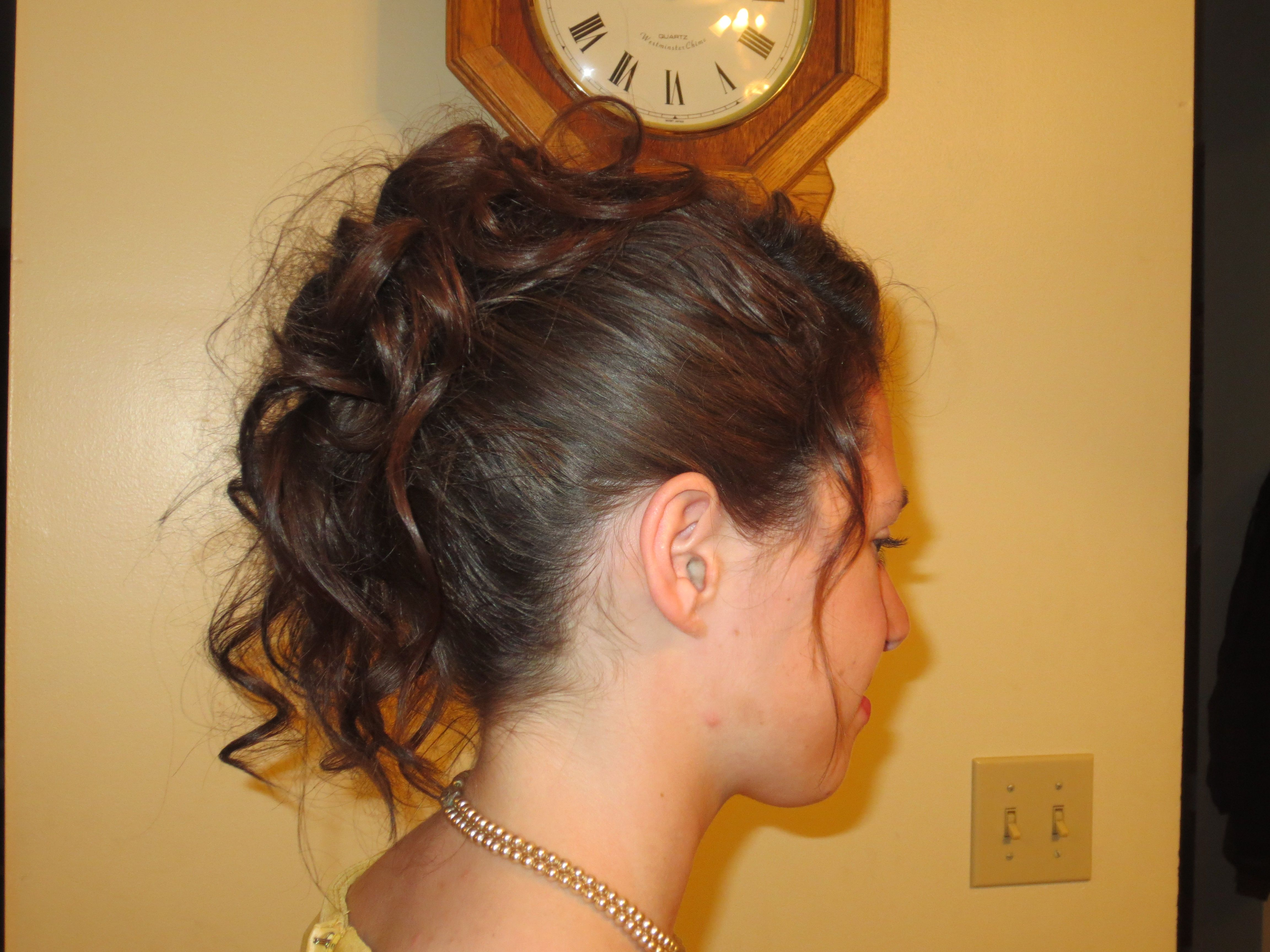 my hair by marcy for the 2013 dance