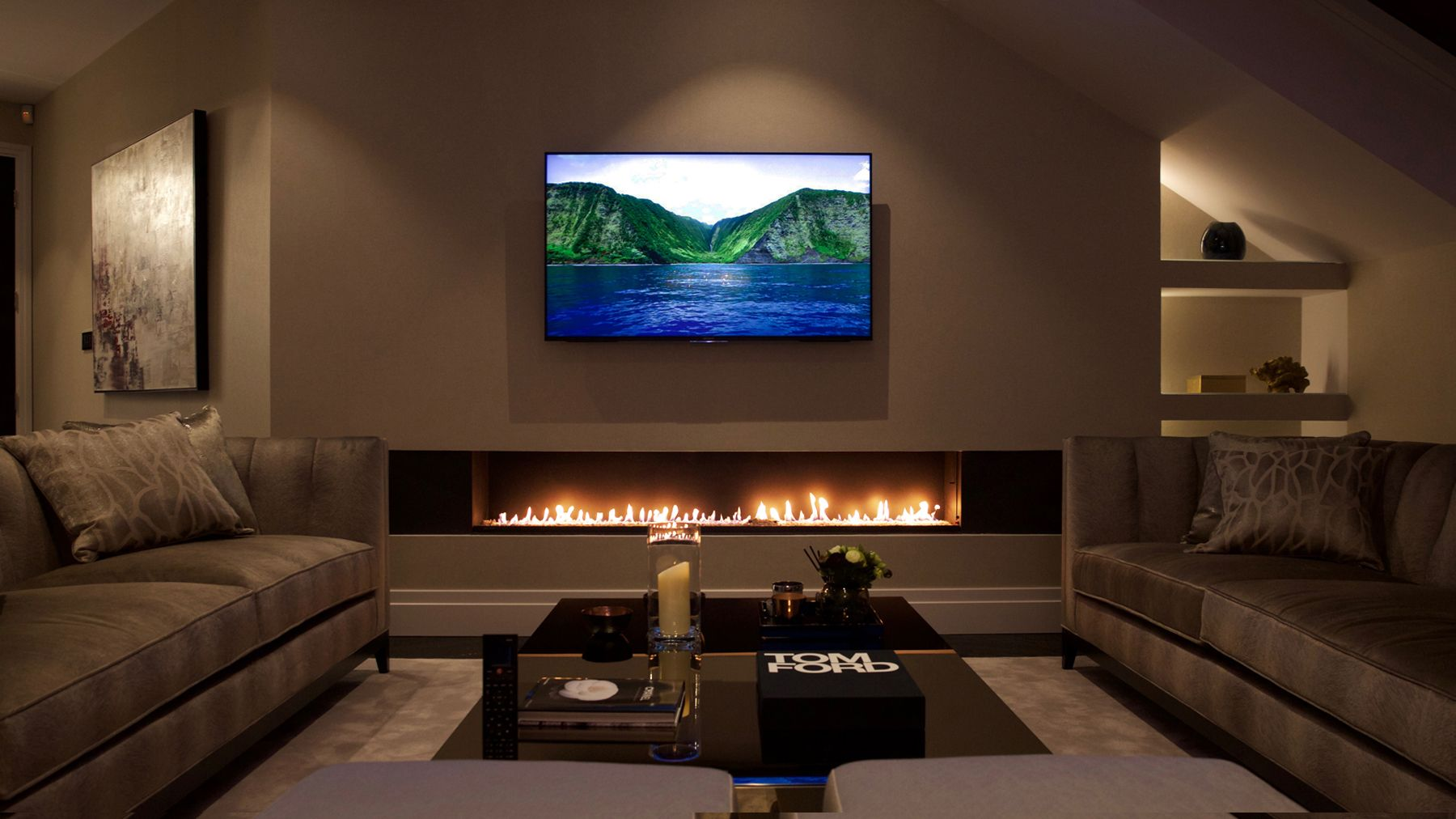 part of our linefire or linear gas fire collection the 2000 is