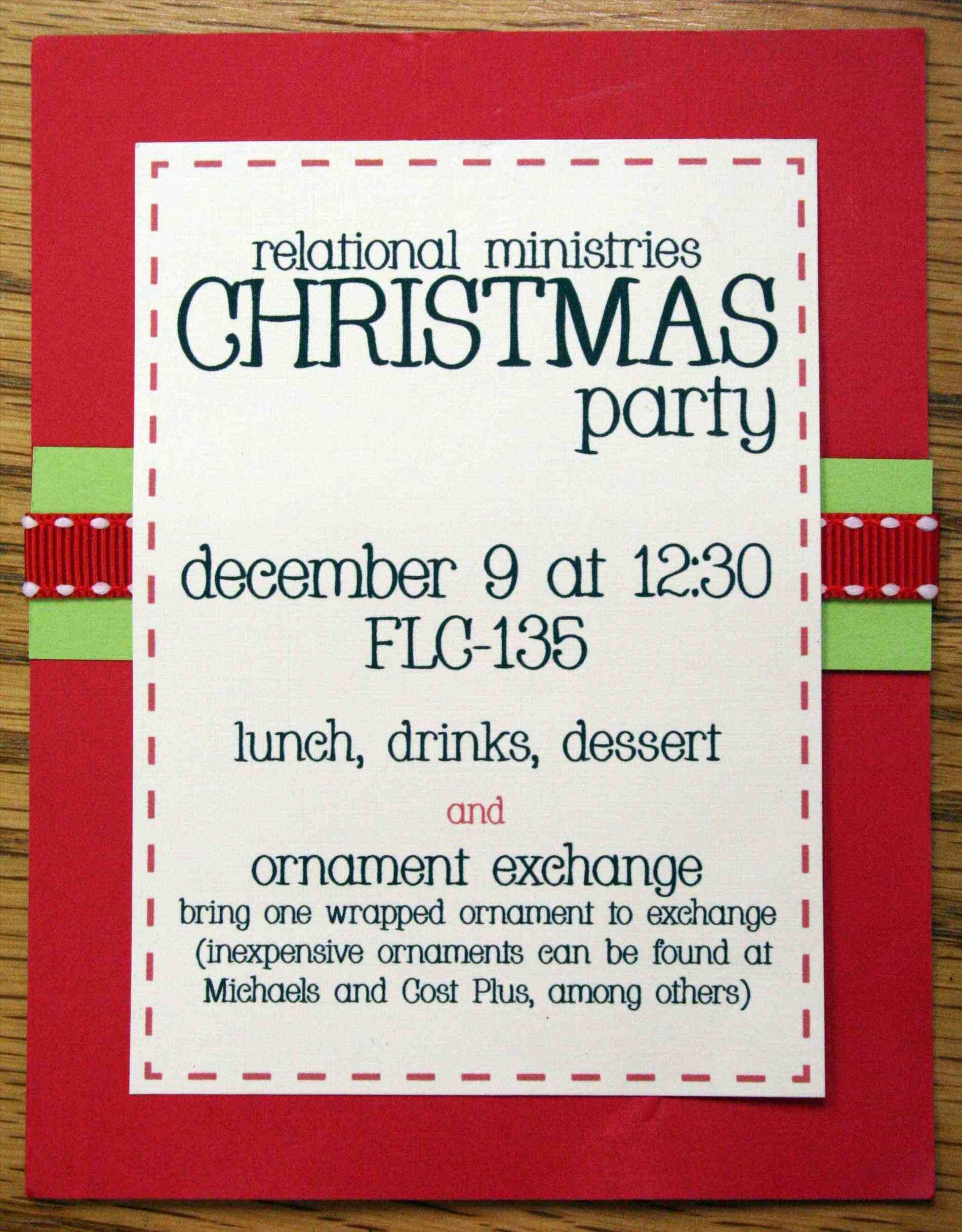 New office christmas party invitation templates free at temasistemi ...