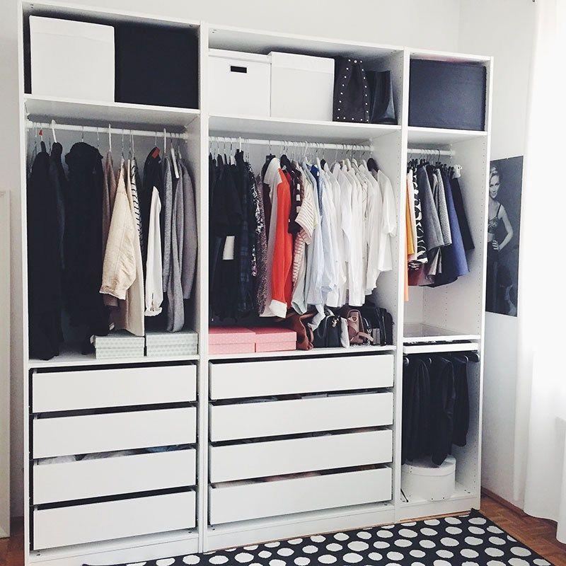 my new wardrobe h ngende kleidung kleiderschranksystem und begehbarer kleiderschrank. Black Bedroom Furniture Sets. Home Design Ideas