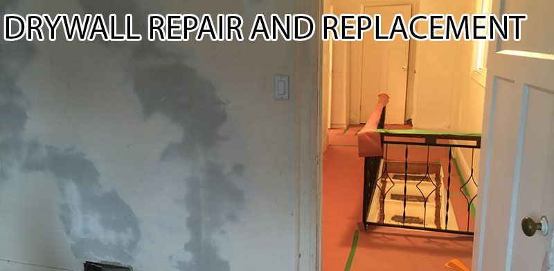 Need To Repair Your Drywall Are Your Bathroom Walls Water Damaged - Repair bathroom wall water damage