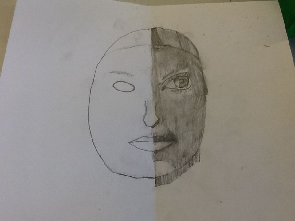 Half gezicht
