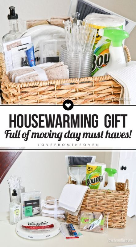 How To Create A Housewarming Gift Basket Put Together