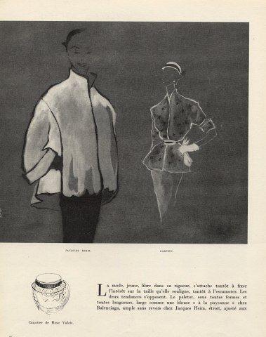 Simone Brousse 1951 Heim & Carven