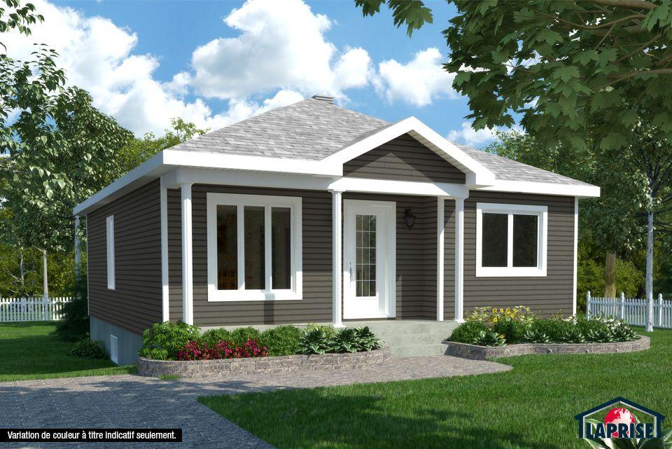 Classique | LAP0126 | Maison Laprise - Maisons pré-usinées | Dream house exterior, Prefabricated ...