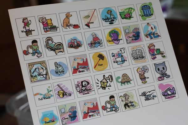 free printable chore clip art
