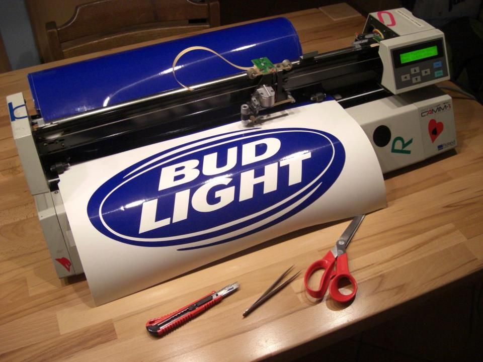 Best Vinyl Cutter Proof Of Working Vinyl Cutting On Linux From One Of Inkcut Users