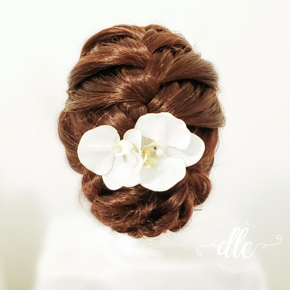 Wedding Entourage Hairstyle
