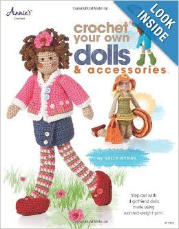 Crochet Your Own Dolls Accessories Sally Byrne 9781596354814