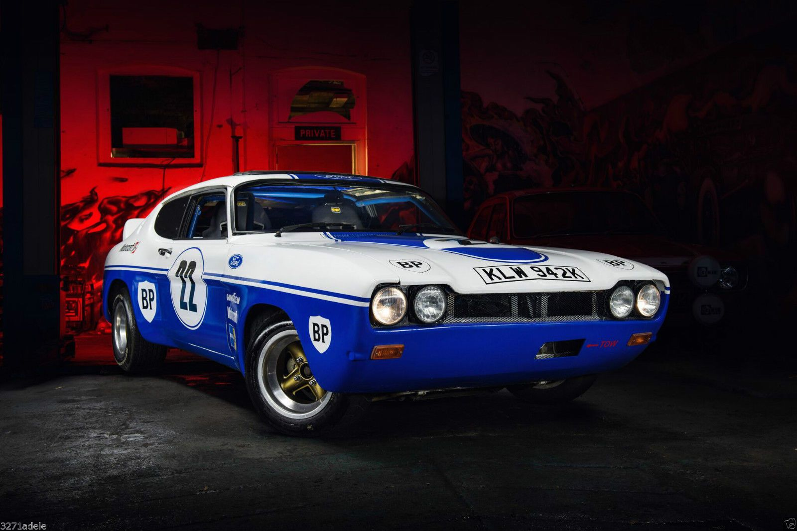 Ford Capri 2.8 i road race rally track day car | Ford capri, Rally ...