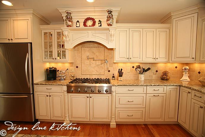 kitchen hood cabinet stove varying height cabinets furniture legs 21746