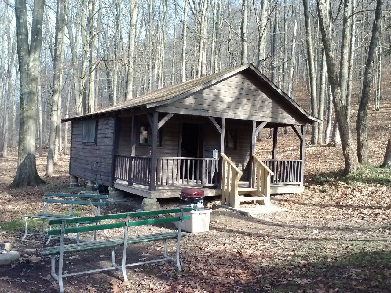 Deer Camp 2012. The Home Away From Home. Allegany State Park. New York