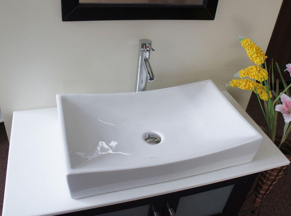 "26 "" European Style White Porcelain Ceramic Bathroom Sink Bowl B8 Glamorous Sink Bowl Bathroom 2018"