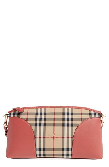 48c0d8d8bfc4 BURBERRY  Horseferry Chichester  Leather   Nylon Crossbody Bag.  burberry   bags  shoulder bags  leather  nylon  crossbody