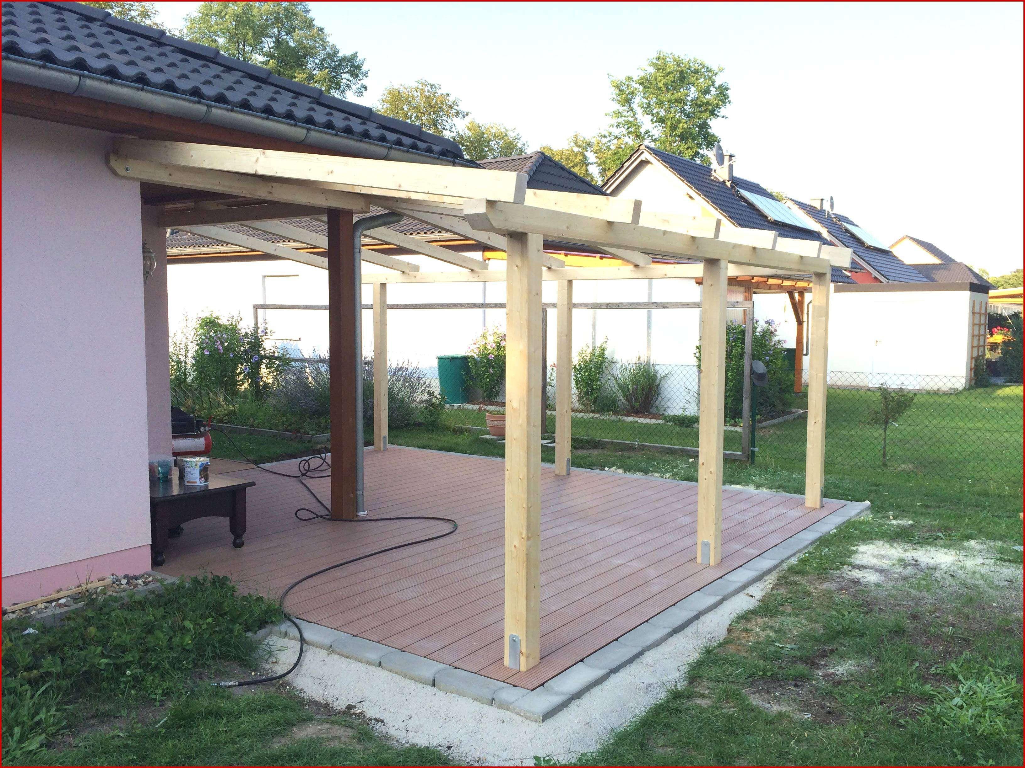 Design 45 Zum Terrassenuberdachung Freistehend Holz Selber Bauen