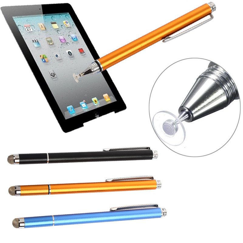 Thin Tip Capacitive Touch Screen Stylus Pen Fine Point Round For Cell Phone iPad