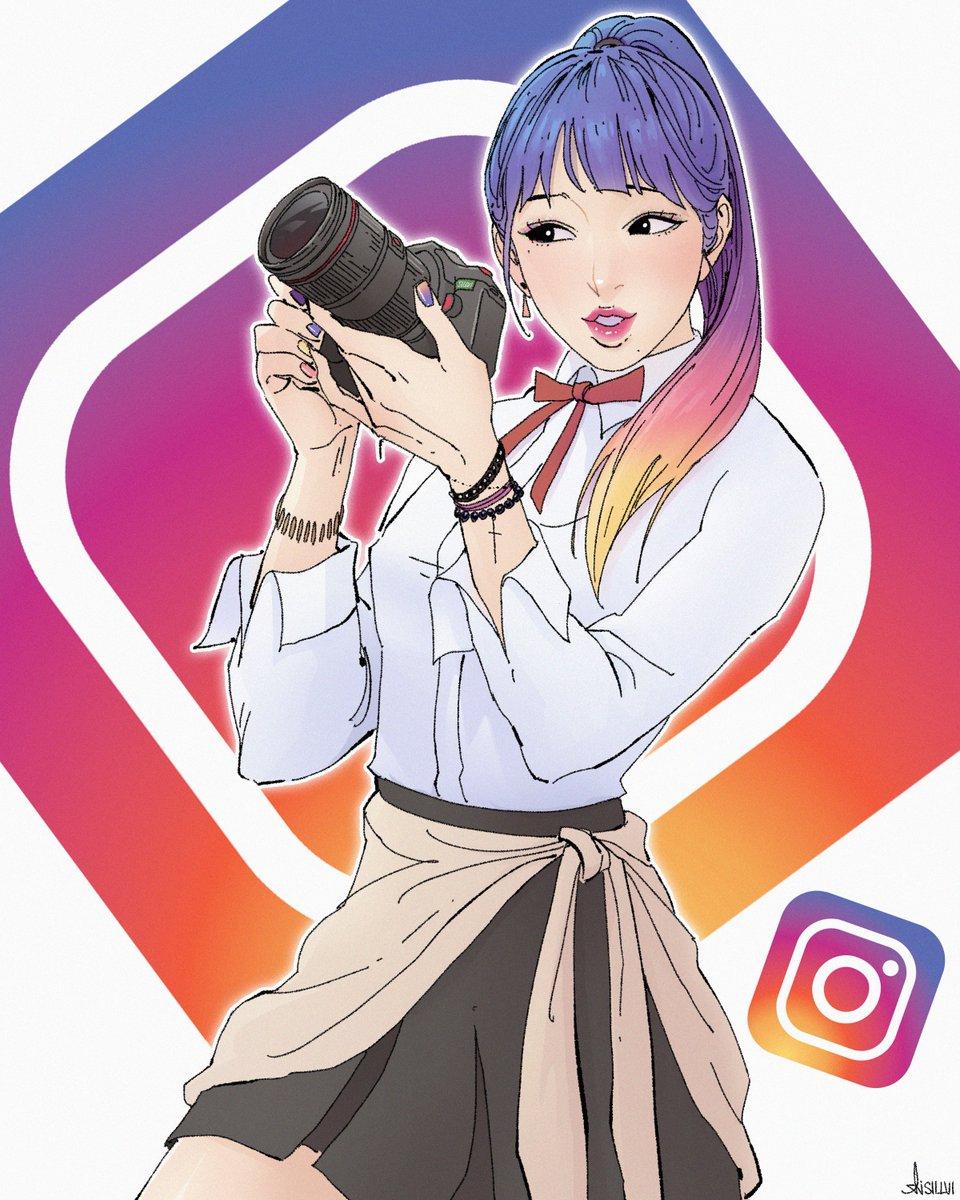 Картинки инстаграм аниме