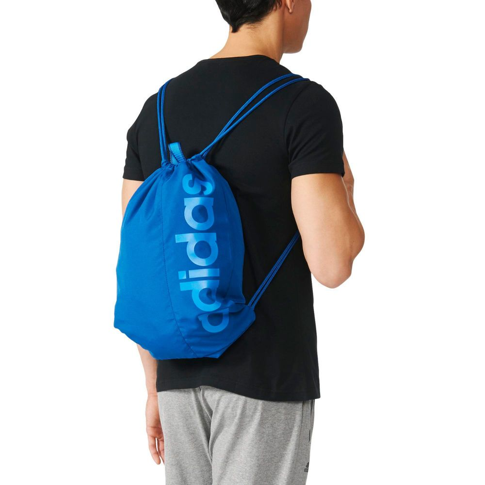 Adidas Training Performance Men Gym Bag AJ9973 Blue Fitness Yoga Workout Bag   Adidas 3cd25bca275f2
