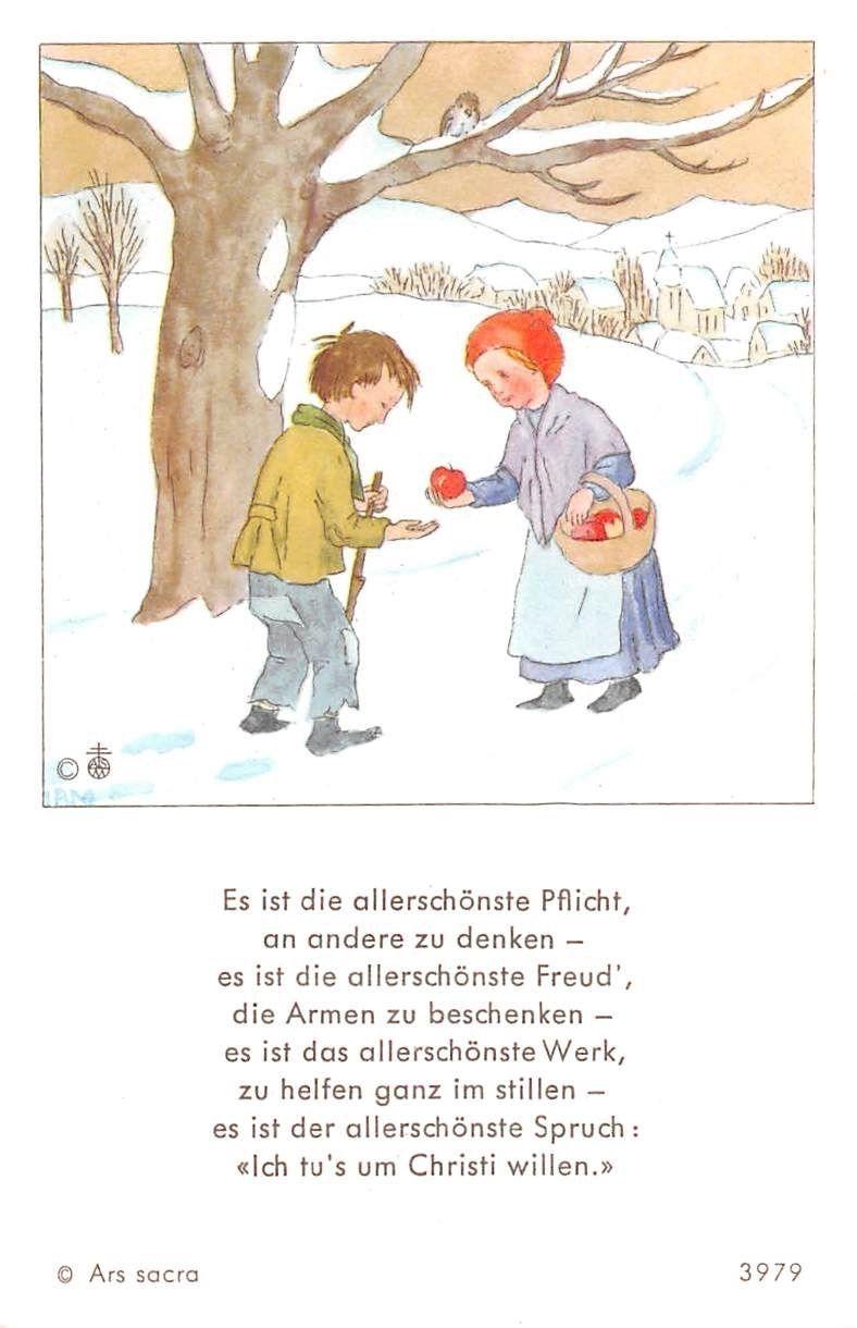 "Fleißbildchen Heiligenbild Gebetbild /"" IDA BOHATTA /"" Holy card Ars sacra/"" H323/"""