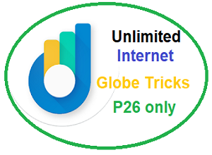 Surfing Globe Promos P26 Only Unlimited Internet Tricks (NO