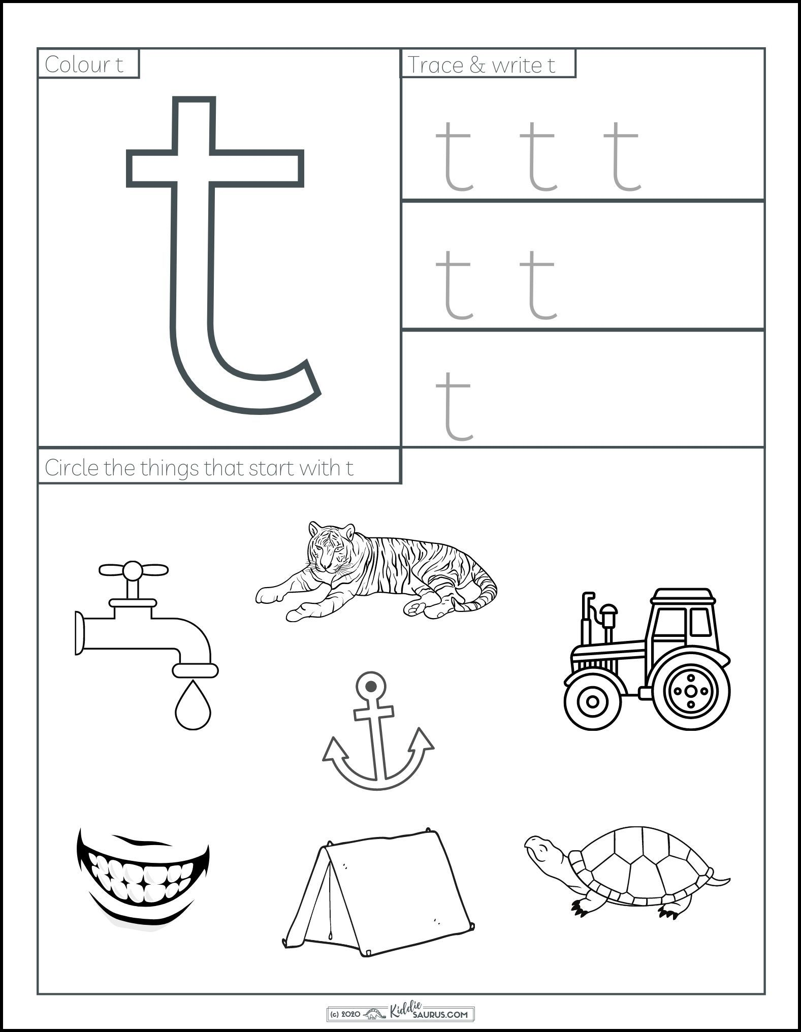 Letter T Printable Worksheets Free Letter T Worksheets Free Preschool Printables Alphabet Letter T Activities [ 2032 x 1577 Pixel ]