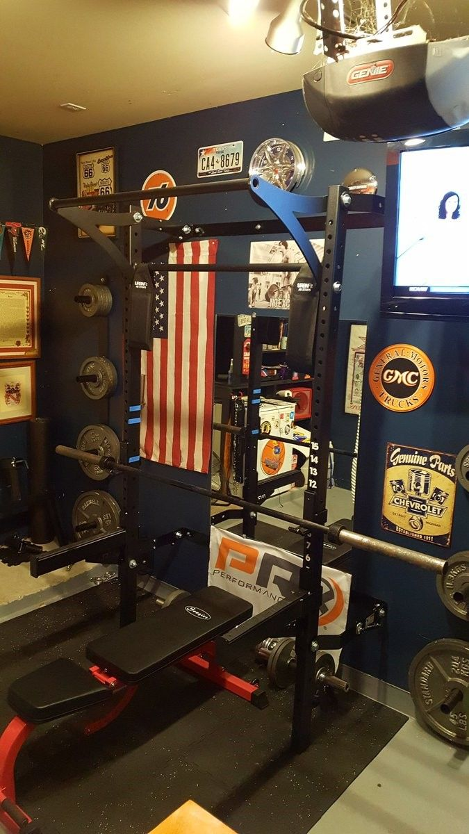 Have you ever seen a space saving man cave gym tag a friend who