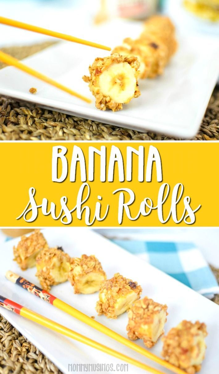 Banana Sushi Is the Back-to-School Snack Taking Pinterest By Storm Banana Sushi Is the Back-to-School Snack Taking Pinterest By Storm new pictures