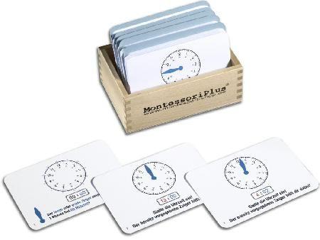 Die perfekte Unterst�tzung beim Uhrzeiten lernen. Die Arbeitskartei mit 110 Karten und integrierter Selbstkontrolle macht es jedem Kind leicht, die Uhr schne...