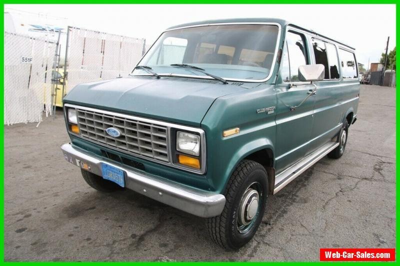 1983 Ford E Series Van 3 Dr Club Wagon Xl Ford Eseriesvan