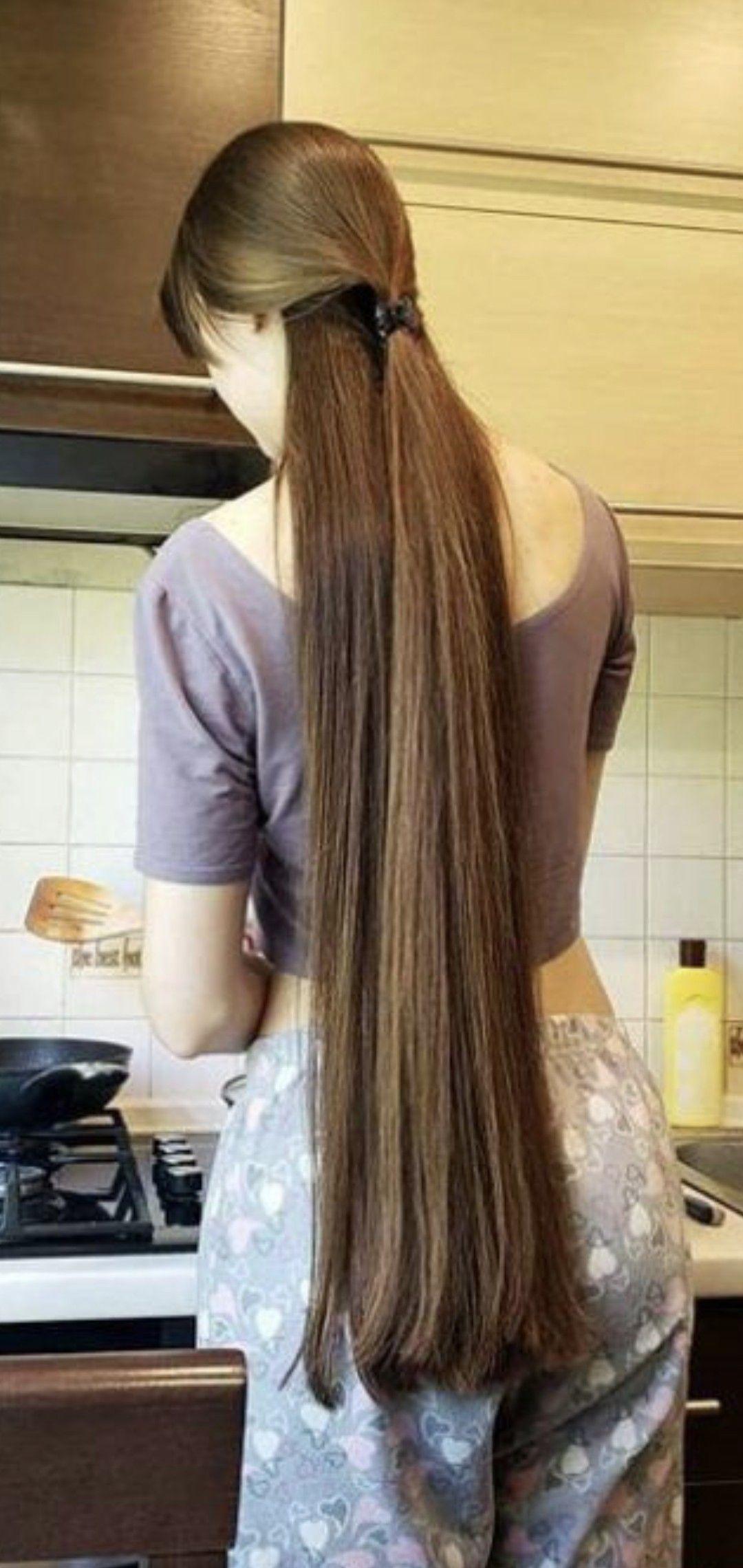 Pin by Kamal Mehta on Beautiful long hair in 2020   Long ...