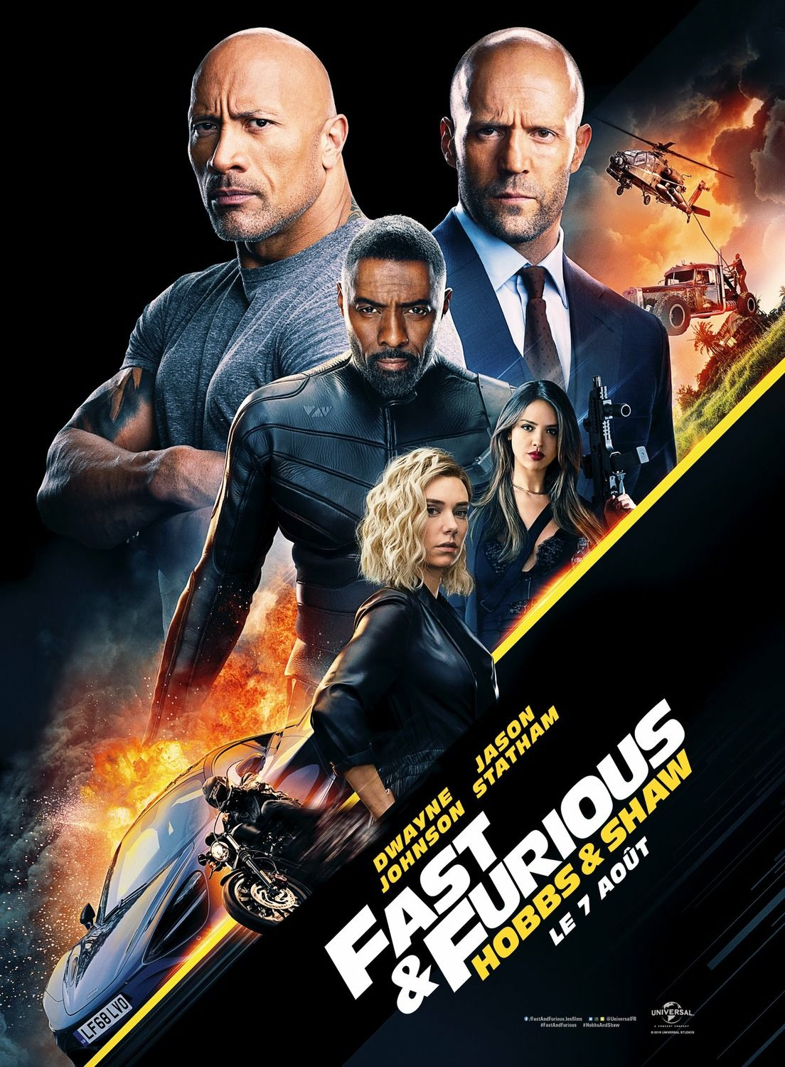 Fast And Furious Presents Hobbs And Shaw New Poster Https Teaser Trailer Com Movie Ho Peliculas En Estreno Peliculas En Espanol Pelicula Rapido Y Furioso