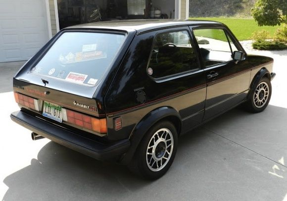 BaT Exclusive OneOwner 1984 VW GTI Volkswagen golf mk1