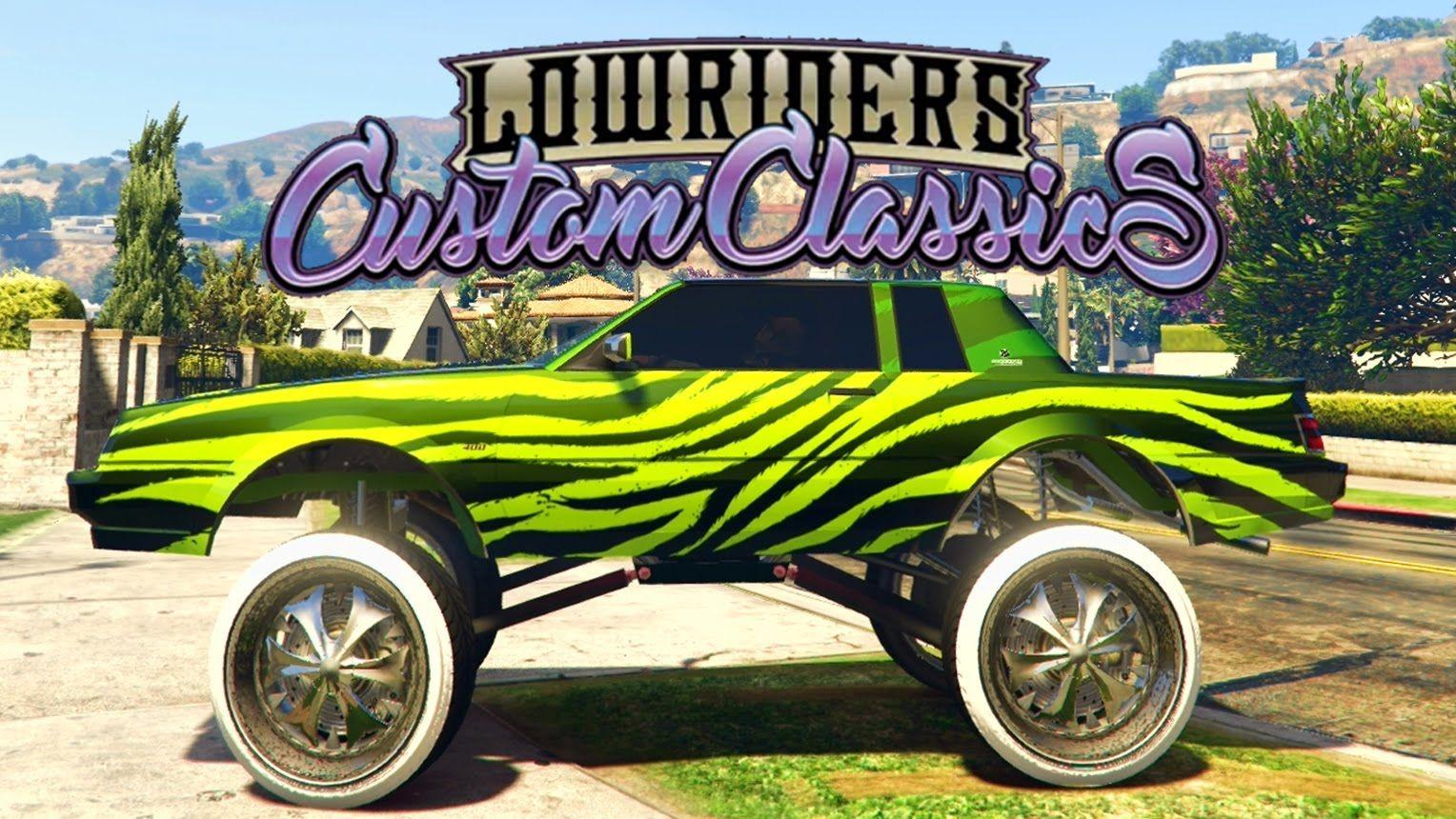 Impresionante Tuneando Nuevo Super Vehículo Gta 5 Online Nuevo Dlc Lowriders Custom Classics Lowrider Gta Gta 5