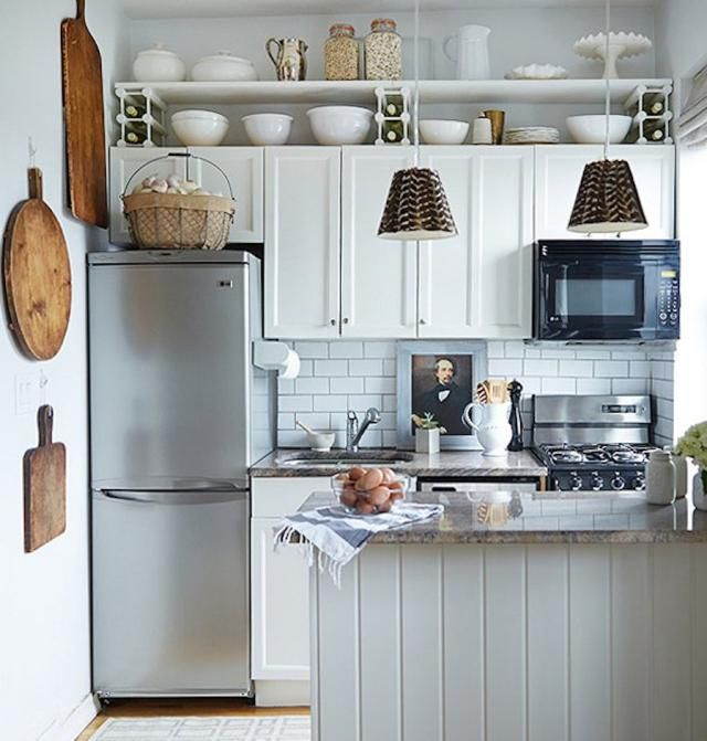 Give A Small Kitchen Some Good Feng Shui Tiny House Kitchen